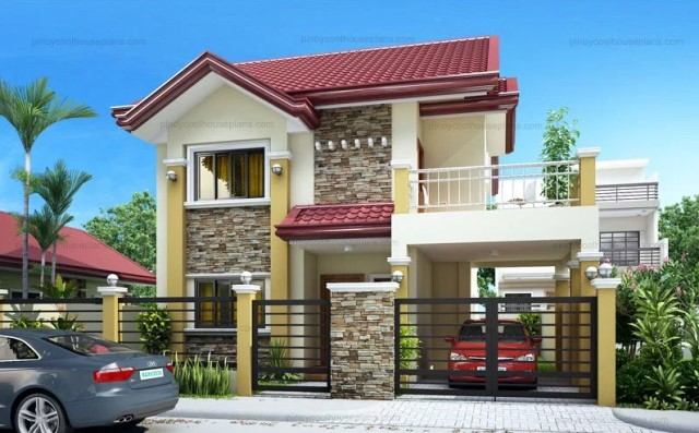 Two-story house Contemporary shape 4 bedrooms 3 bathrooms (3)