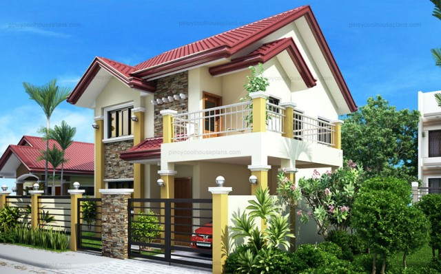 Two-story house Contemporary shape 4 bedrooms 3 bathrooms (4)