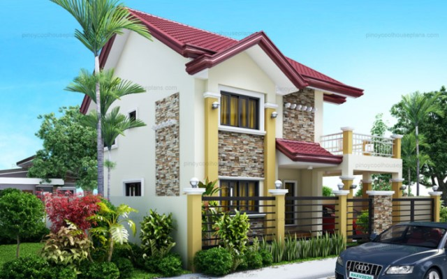 Two-story house Contemporary shape 4 bedrooms 3 bathrooms (5)