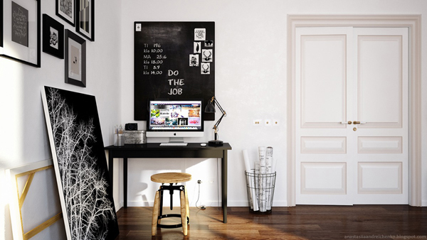 artistic-scandinavian-workspace-ideas