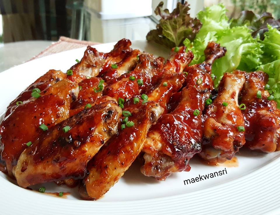 bbq sauce chicken wings recipe