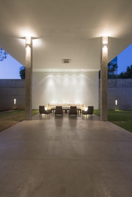 concrete Modern house Simple design (1)