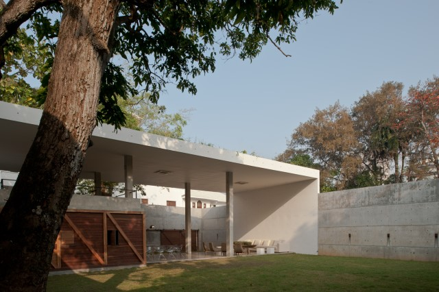 concrete Modern house Simple design (10)