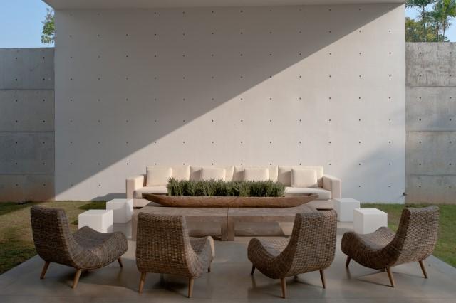 concrete Modern house Simple design (11)