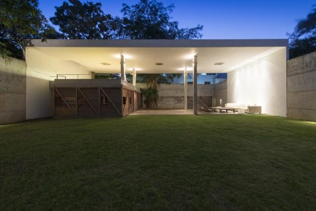 concrete Modern house Simple design (13)
