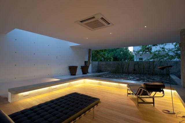 concrete Modern house Simple design (2)