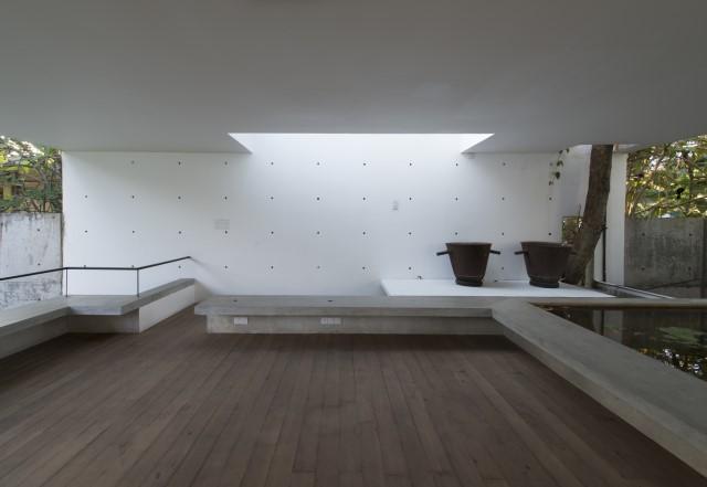 concrete Modern house Simple design (4)