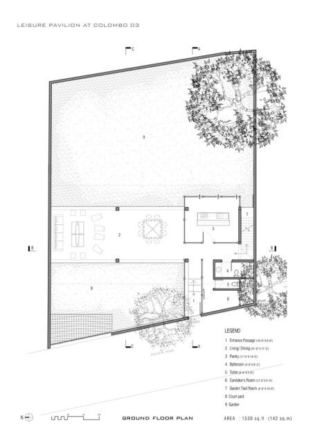 concrete Modern house Simple design (6)