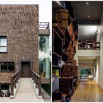 บ้านโมเดิร์นร่วมสมัย โครงสร้างคอนกรีต ที่ตกแต่งด้วยวัสดุจากธรรมชาติ
