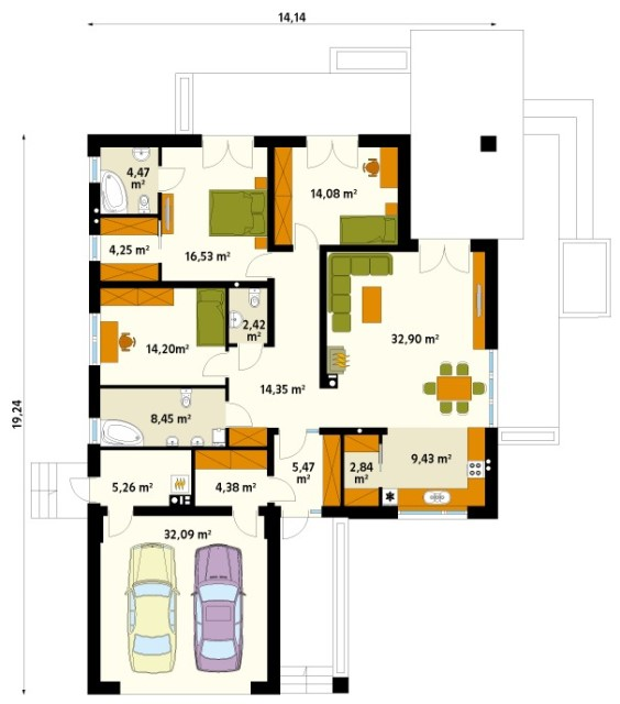 contemporary-house-3-bedroom-3-bathroom-elegant-shape-3