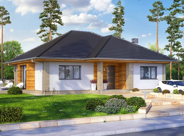 contemporary House 3 bedrooms 3 bathrooms dignified simplicity (3)
