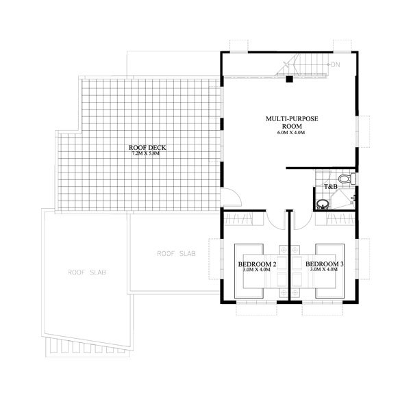 contemporary House 4 bedroom 3 bathroom (1)