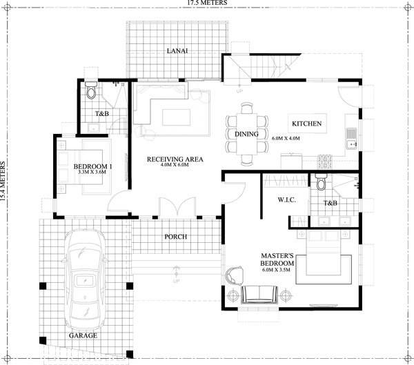 contemporary House 4 bedroom 3 bathroom (5)