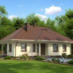 บ้านเดี่ยวร่วมสมัย ดีไซน์ให้มี 4 ห้องนอน 2 ห้องน้ำ กับบรรยากาศแบบบ้านสวน