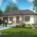 บ้านเดี่ยวสไตล์ร่วมสมัย ขนาดกะทัดรัด ออกแบบให้มี 3 ห้องนอน 2 ห้องน้ำ