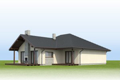 contemporary house 3 bedroom Decorating with natural (1)