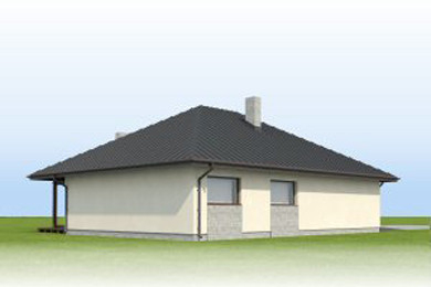 contemporary house 3 bedroom Decorating with natural (7)