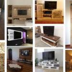 """20 ไอเดีย DIY """"ชั้นวางทีวีจากพาเลทไม้"""" เรียบง่ายแต่สวยงาม ประยุกต์สร้างสรรค์ได้หลายแนว"""