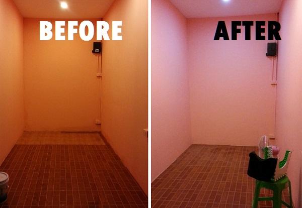 fix tile floor diy (4)