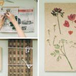 """DIY ขั้นตอนการทำ """"ดอกไม้ทับ"""" ด้วยวิธีแบบนักพฤกษศาสตร์ ทำได้เองที่บ้าน"""
