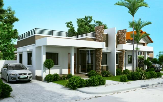 idea-twin-house-modern-style-1