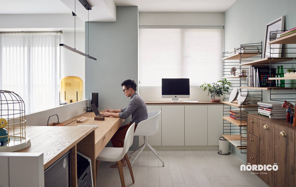masculin-scandinavian-workspace