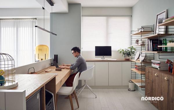 masculin-scandinavian-workspace