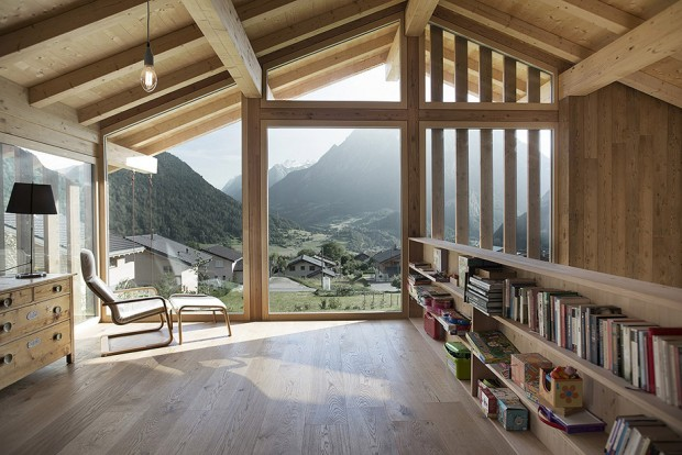 minimal-wood-house-among-valley-by-alp-2