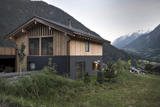 minimal-wood-house-among-valley-by-alp-7