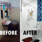 Review : รีโนเวทห้องน้ำโบราณ เปลี่ยนใหม่กลายเป็นแบบโมเดิร์นสุดเนี้ยบ สวยงามและน่าใช้งานยิ่งกว่าเดิมหลายเท่า!!