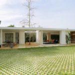 บ้านโมเดิร์นชั้นเดียว สไตล์สแกนดิเนเวีย ออกแบบเรียบง่าย ใกล้ชิดธรรมชาติ