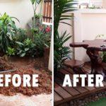 Review : จัดสวนข้างบ้านแบบง่ายๆ พร้อมสระน้ำ พื้นที่แคบก็เป็นมุมนั่งเล่นสุดชิลล์ได้