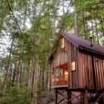 บ้านกระท่อมรัสติค 1 ห้องนอนบนชั้นลอย ตกแต่งด้วยไม้ทั้งหลัง ท่ามกลางสวนป่าร่มรื่น