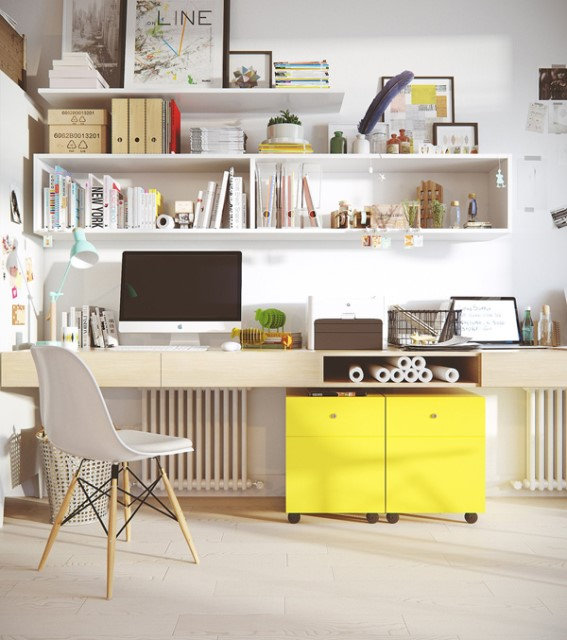 small-scandinavian-workspace-with-cabinet-shelf