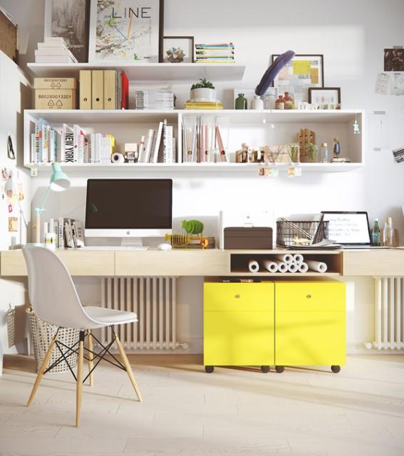 small-scandinavian-workspace-with-cabinet-shelf