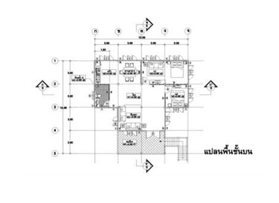 thai ancient house with contemporary structure (2)