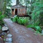 บ้านต้นไม้ยกพื้นสูง 1 ห้องนอนภายใน ไอเดียที่เหมาะกับบ้านสวน บ้านตากอากาศ