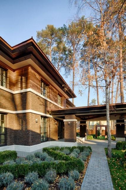 two storey modern House villas style  (1)