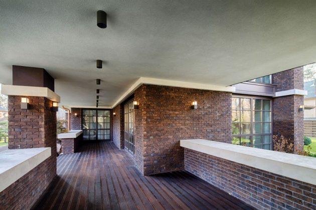 two storey modern House villas style  (10)
