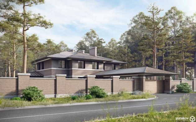 two storey modern House villas style  (11)