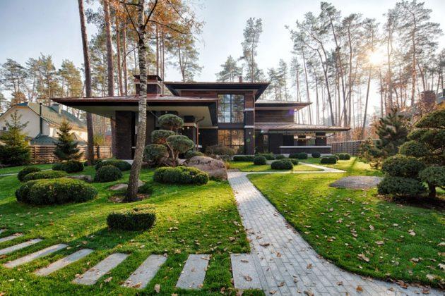 two storey modern House villas style  (14)