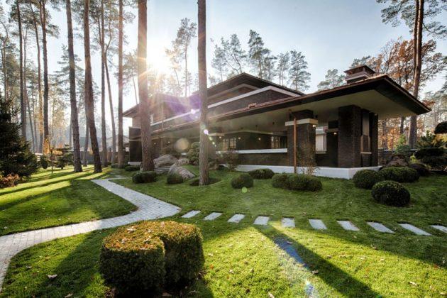 two storey modern House villas style  (15)