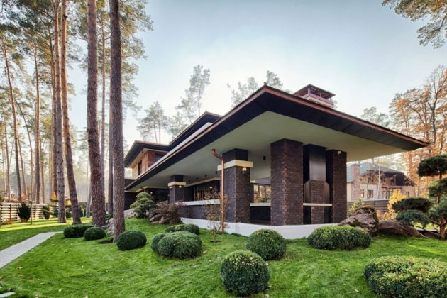 two storey modern House villas style  (16)