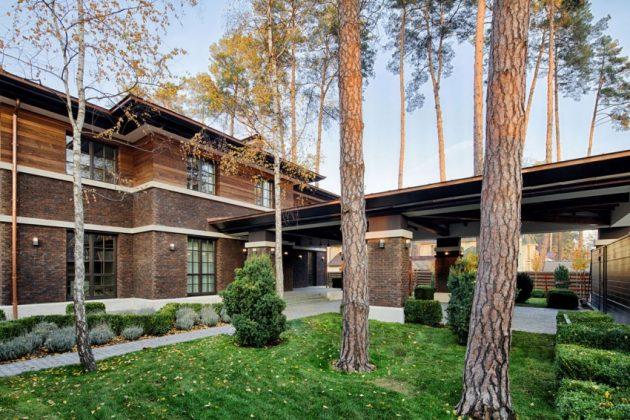 two storey modern House villas style  (17)
