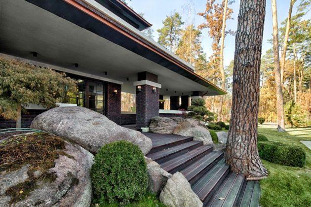 two storey modern House villas style  (6)