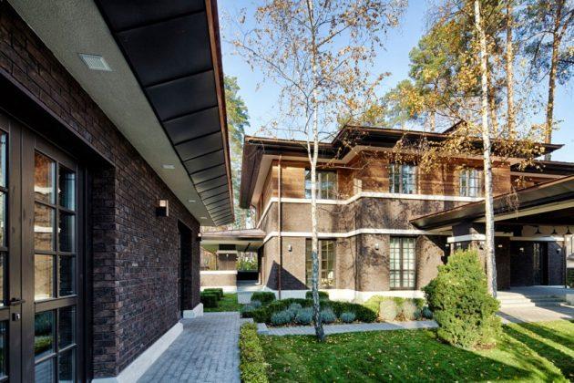 two storey modern House villas style  (7)
