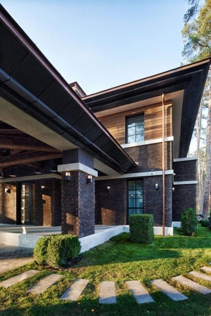 two storey modern House villas style  (8)