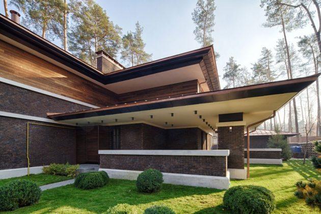 two storey modern House villas style  (9)