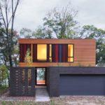 บ้านโมเดิร์นสไตล์วิลล่า ตกแต่งสวยงามแบบทูโทน ภายในโปร่งโล่ง รับการใช้งานของครอบครัวสมัยใหม่