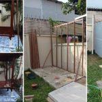 Review : ทำศาลาไม้สำหรับนั่งพักผ่อนหย่อนใจในสวน พร้อมห้องเก็บของแบบง่ายๆ